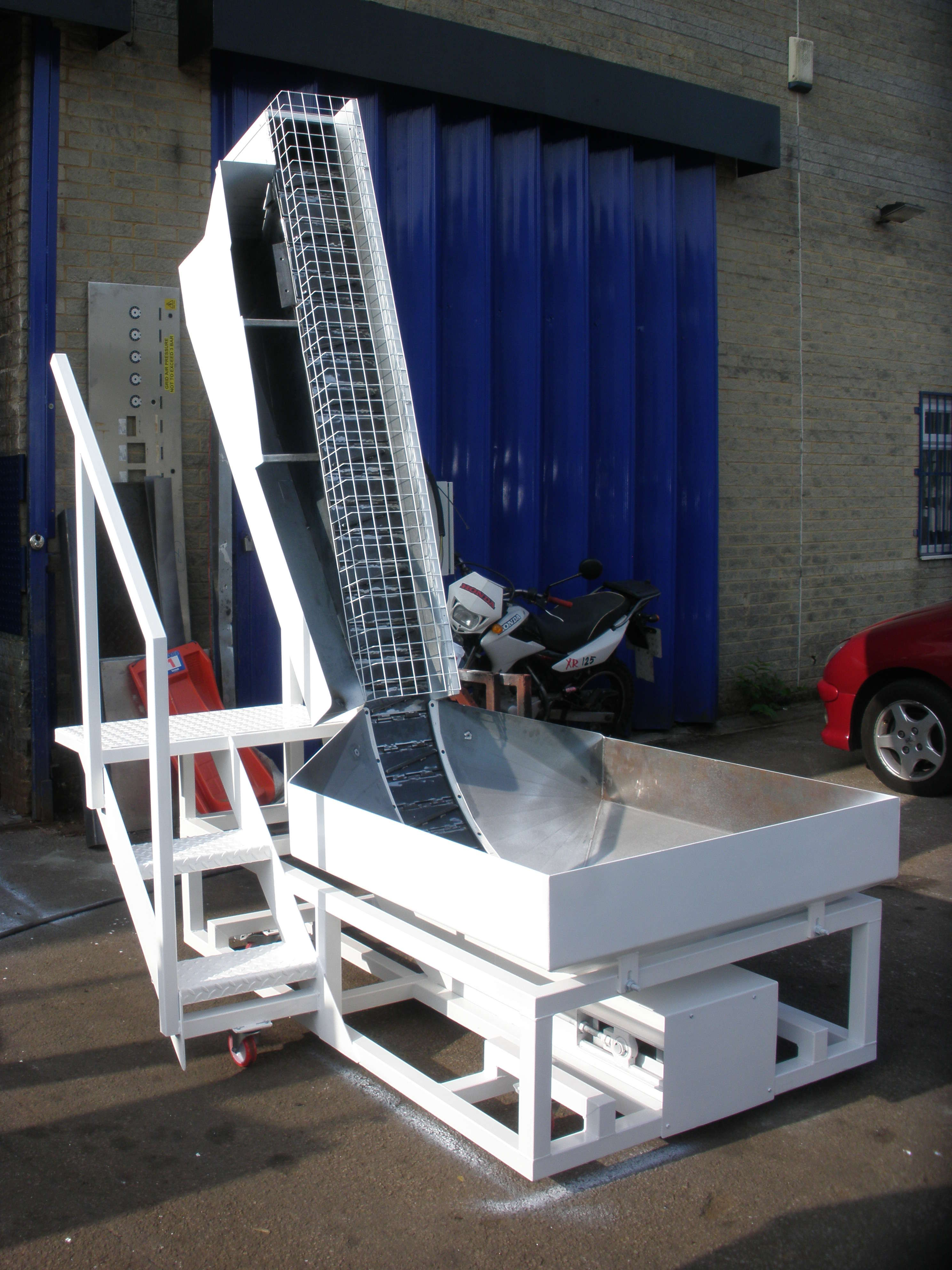 Custom Swarf Conveyor Fabrication